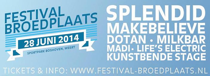 Festival Broedplaats 28 juni 2014
