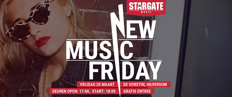 STARGATE'S NEW MUSIC FRIDAY